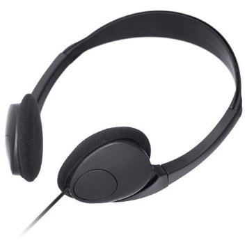 The stereo headphones